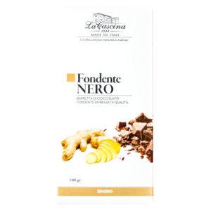 Cioccolato fondente gusto zenzero